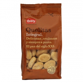 Galletas integrales Quely 400 g.