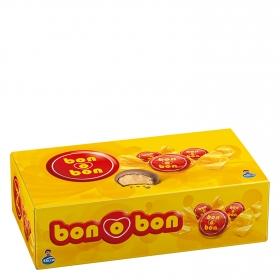 Bombones de chocolate con leche rellenos de crema de cacahuete Arcor 18 unidades de 17 g.