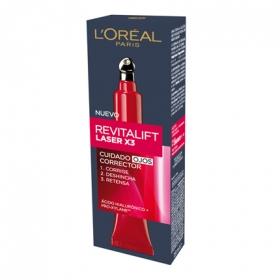 Contorno de ojos Láser Revitalizador L'Oréal-Dermo Expertise 1 ud.