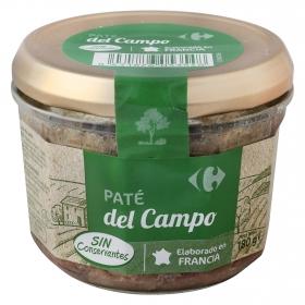 Paté del campo Carrefour 180 g.