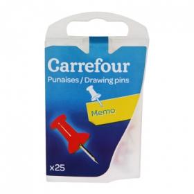 25 Chinchetas Memo Carrefour