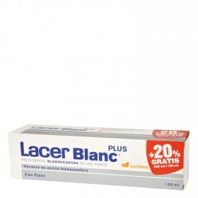 Dentífrico blanqueadora con flúor Lacer Blanc 125 ml.
