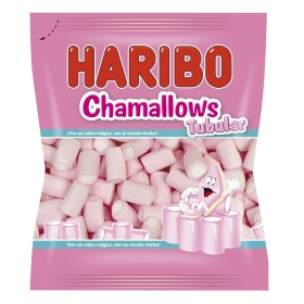 Caramelos de goma Chamallows Tubular Haribo 250 g.