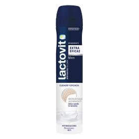 Desodorante en spray para hombre con proteínas de leche Lactovit 200 ml.