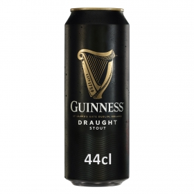 Cerveza Guinness Draught irlandesa negra lata 44 cl.
