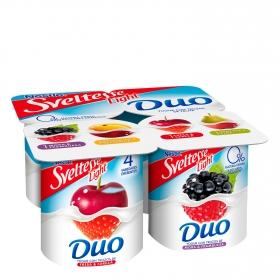 Yogur desnatado Dúo de Frutas