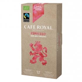 Café espresso Bio en cápsulas compatible con Nespresso