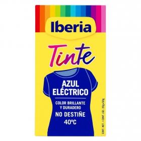 Tinte para la ropa azul eléctrico 40ºC