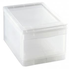 Cajón organizador de Plástico Carrefour Home 8 Litros - Transparente