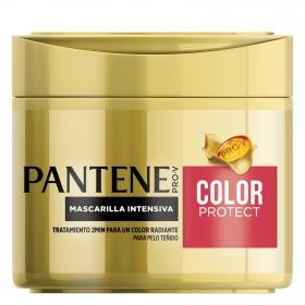 Mascarilla capilar intensiva para cabello teñido Color Project Pantene 300 ml.