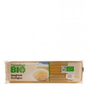 Espaguetis ecológicos Carrefour Bio 500 g.