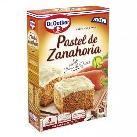 Preparado para pastel de zanahoria con crema de queso Dr. Oetker 315 g.