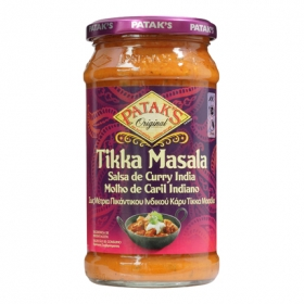 Salsa de curry India Patak's tarro 350 g.