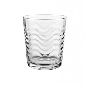 Set de Vasos de Vidrio Lena 28cl Transparente