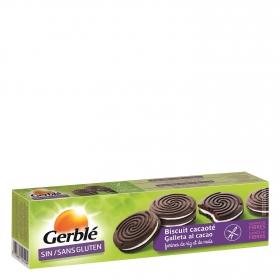 Galletas Dietéticas de Cacao rellenas y Sin Gluten