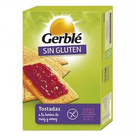 Tostadas de Maiz y Arroz Dietéticas Gerblé Bio sin gluten  250 g.