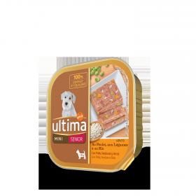 Ultima Comida Húmeda para Perro Mini Senior 150gr.