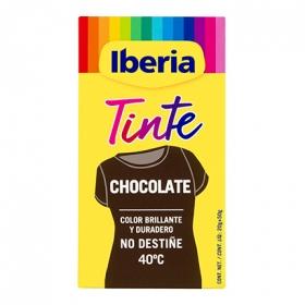 Tinte para la ropa chocolate 40ºC 2 sobres + fijador