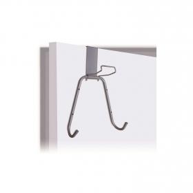 Colgador de tabla de planchar de acero RAYEN  42 x 12,5 cm - Gris