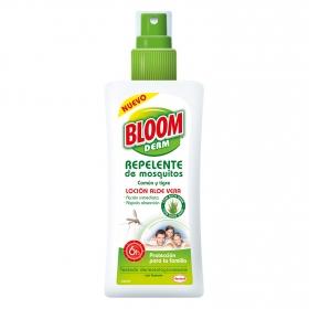 Loción repelente de mosquitos común y tigre Bloom Derm 100 ml.