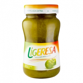 Mermelada de ciruela categoría extra Ligeresa 330 g.