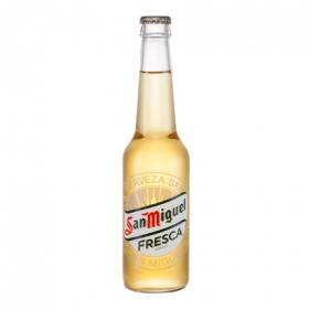 Cerveza San Miguel Fresca botella 33 cl.