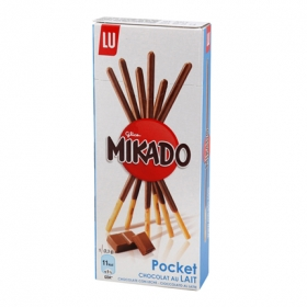 Palitos de chocolate Mikado Lu 39 g.