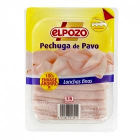 Pechuga de pavo El Pozo 180 g.