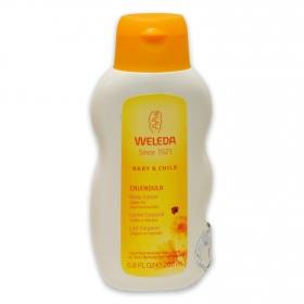 Leche corporal de caléndula Weleda 200 ml.