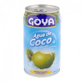 Agua de coco Goya con trozos lata 35 cl.