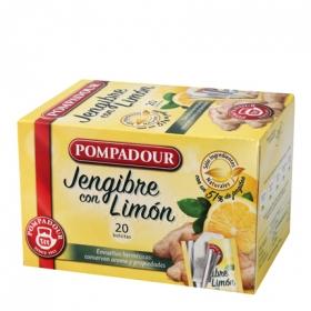 Infusión de Jengibre con limón en bolsitas