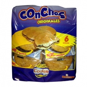 Conchas Codan 6 ud.