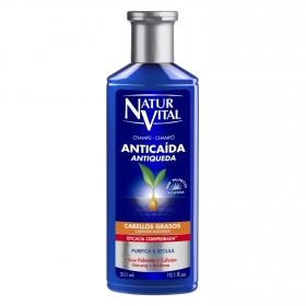 Champú anticaída para cabellos grasos