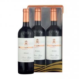LOTE 95: 2 botellas D.O. Ca. Rioja Marqués de Murrieta tinto reserva 75 cl.