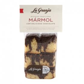 Bizcocho mármol con chocolate