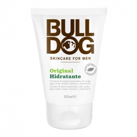 Crema hidratante original para hombre Bulldog 100 ml.