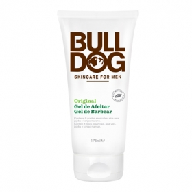 Gel de afeitar original Bulldog 175 ml.