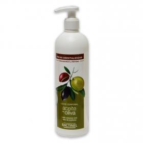 Leche corporal con aceite de oliva para pieles desvitalizadas