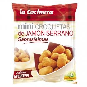 Mini croquetas de jamón La Cocinera 300 g.