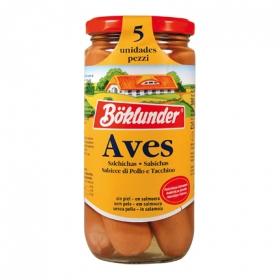 Salchichas de pollo Böklunder 250 g.