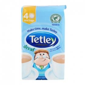 Té descafeinado en bolsitas Tetley 40 ud.
