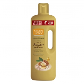 Gel de ducha elixir de argan Natural Honey 1,5 l.