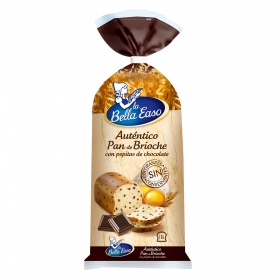 Brioche en rebanadas con pepitas de chocolate 'Rebanissimo'