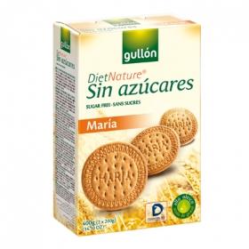 Galletas María sin azúcar Diet Nature Gullón 400 g.