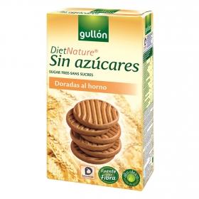 Galletas doradas al horno sin azúcar Diet Nature Gullón 330 g.
