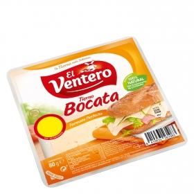 Queso en lonchas tierno El Ventero 80 g.