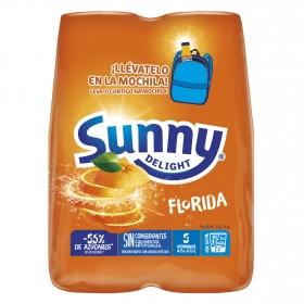 Zumo Sunny Delight Florida pack de 4 botellas de 20 cl.