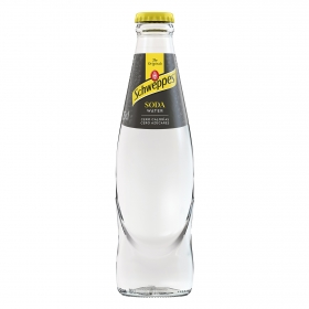 Soda Schweppes botella 25 cl.