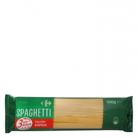 Spaguetti cocción rápida