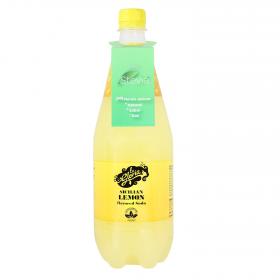 Refresco de limón La Gloria con gas stevia botella 1 l.